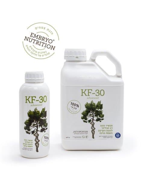 KF 30 תוסף טבעי לגידול צמחים, מיטיב עם האדמה
